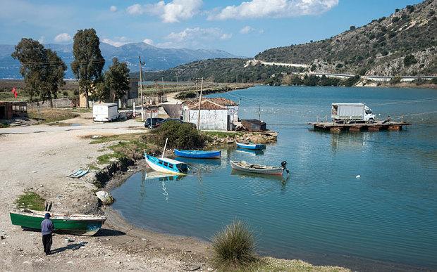 Albanian landscape near Butrint
