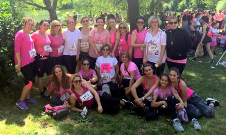 A group of British Albanian mums have raised £540.00 for Cancer Research UK