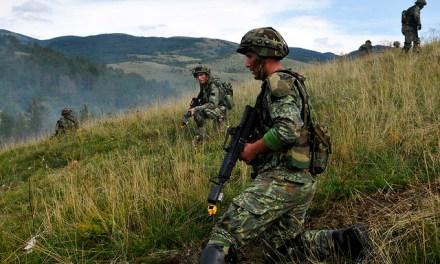 Immediate Response: Albania, Kosovo and United Kingdom together at a NATO training