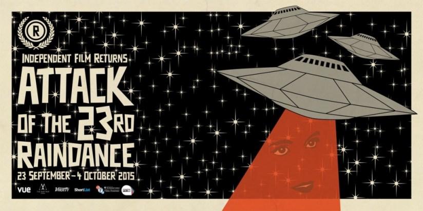 Raindance Film Festival 2015 poster