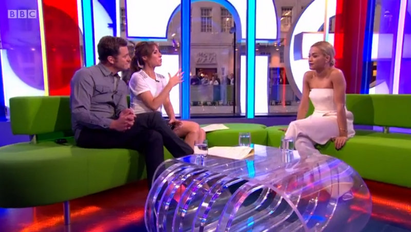 The One Show: Matt Baker and Alex Jones are joined by pop star and TV judge Rita Ora