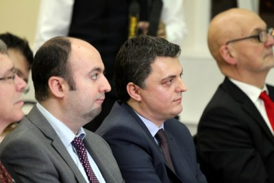 Ambasadori i Kosoves, Lirim Greicevci (ne mes)