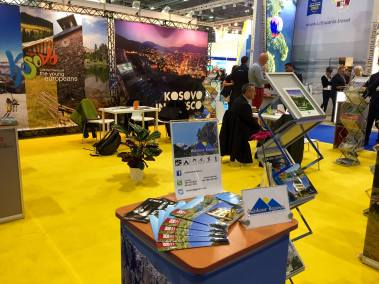 Kosovo's stand at World Travel Market