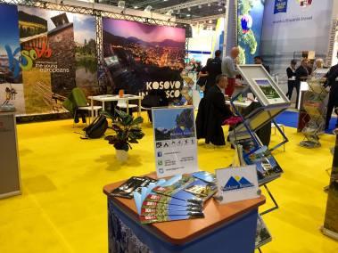 Kosovo's stand at World Travel Market