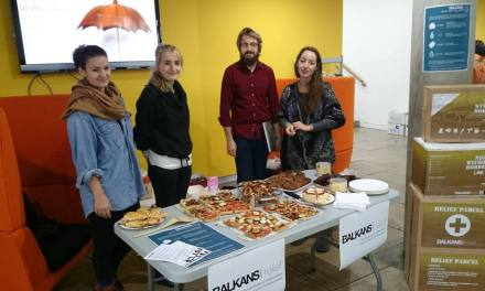 Goldsmiths students have created a 'Balkans Relief' emergency aid group to assist refugees in crisis across Europe