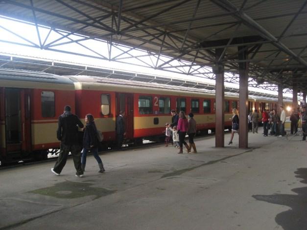Fushe Kosove railway station, near Prishtina