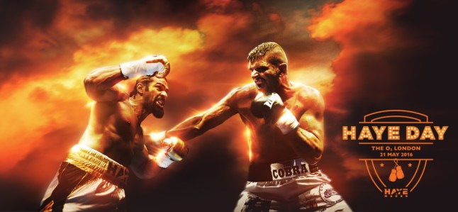 O2, Haye vs Cobra, 21 May 2016, London