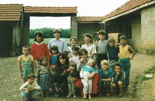Members of the Jashari family before 1998 Serb-led massacre