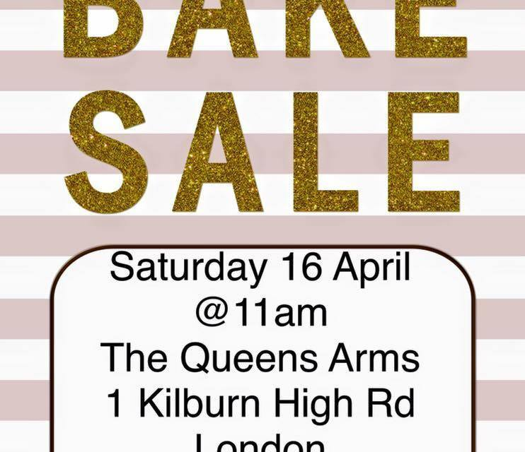 Bake Sale at Queens Arms, to raise money for Albania's state nurseries, 16th April 2016