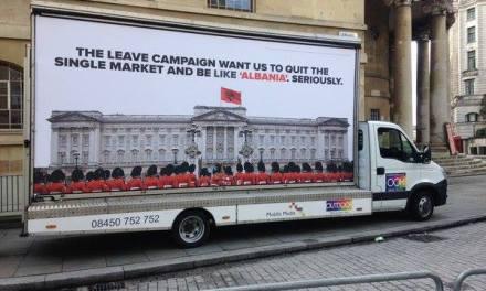 """Në Britani nis fushata """"Nuk duam të jemi si Shqipëria"""""""