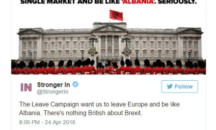 Why is it assumed to be acceptable to be rude about Albania? Remain campaign, you owe Albania an apology!