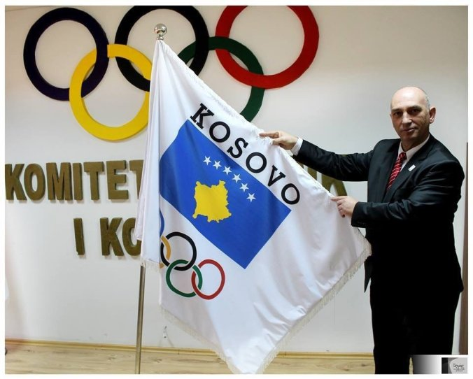 Kosovo Olympic Committee President Besim Hasani is leading the first anniversary celebrations of the country receiving IOC recognition ©Besim Hasani/FacebookThomas Bach met the Kosovan President Atifete Jahjaga during his visit to the Republic in April ©ITGKosovo received its official invitation to compete in the Olympic Games in Rio de Janeiro next year in AugustTwo-time world judo champion Majlinda Kelmendi is Kosovo's best hope of a gold medal at Rio 2016, having been forced to compete for neighbouring Albania at London 2012, when she was knocked out in the first round Kosovo Olympic Committee President Besim Hasani is leading the first anniversary celebrations of the country receiving IOC recognition ©Besim Hasani/Facebook