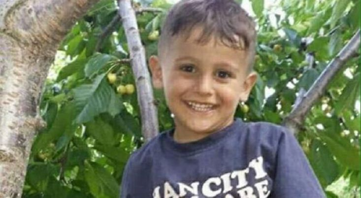 Four years old Almir Aliu, murdered by Macedonian-Serb, Boban Ilic