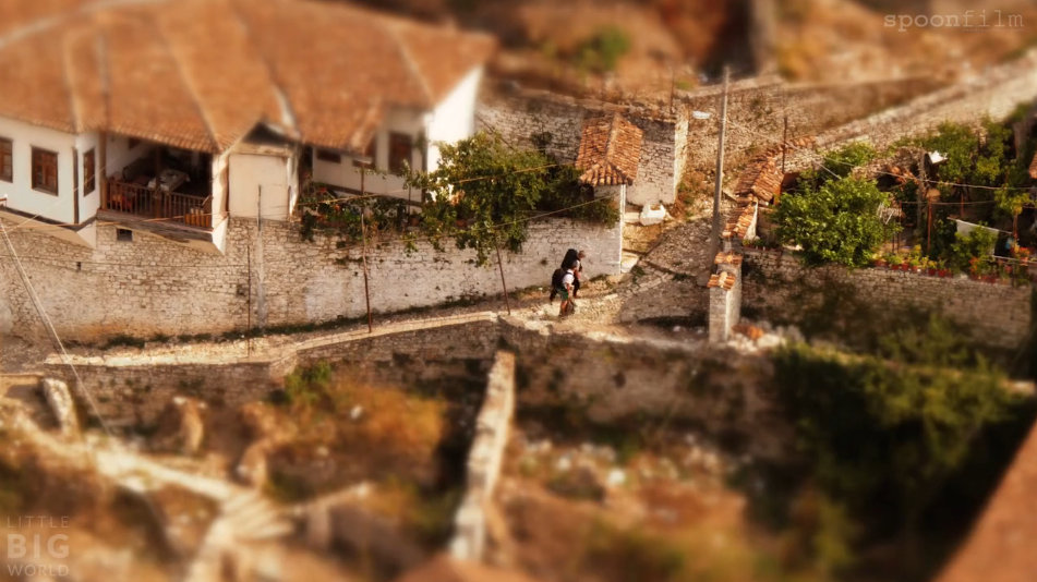 Awesome Albania in tilt-shift and time-lapse video