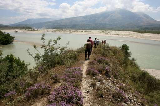River Vjosa, Albania