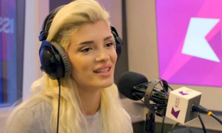 Era Istrefi talks Bonbon on KISS FM in London (Video)