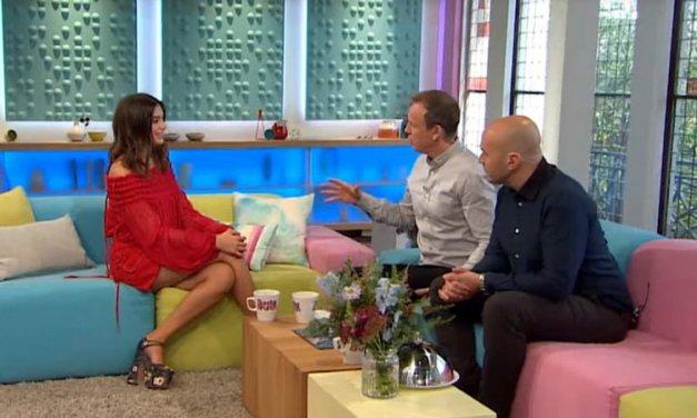 Dua Lipa teaches Sunday Brunch hosts to speak Albanian! (Video)