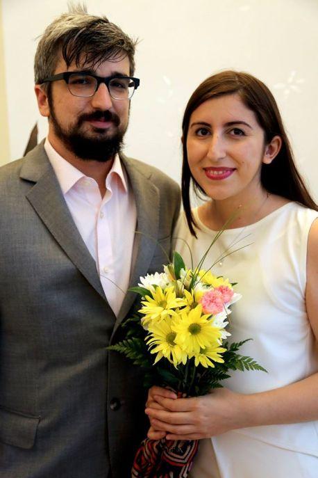 Nate Tabak and Hana Marku got married in July 2016 in Kosovo