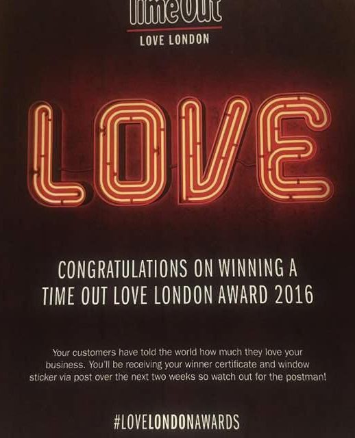 My Place Soho and Queens Arms pub win Time Out Love London 2016 Awards