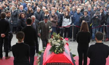 Reuters: Thousands protest death of imprisoned Kosovo opposition activist