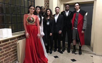 Kosovo-made fashion presented at London Fashion Week