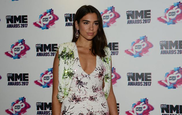 Dua Lipa - up for Best British Female and Best New Artist supported by Topman, arrives in Brixton.Credit: Laura Palmer/NME