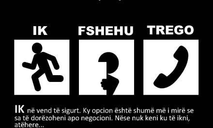 Kampanjë e policisë: Në rast sulmi terrorist: IK, FSHEHU, TREGO