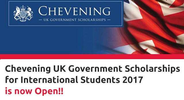 CHEVENING UK GOVERNMENT SCHOLARSHIPS FOR Albanian and Kosovan STUDENTS 2017