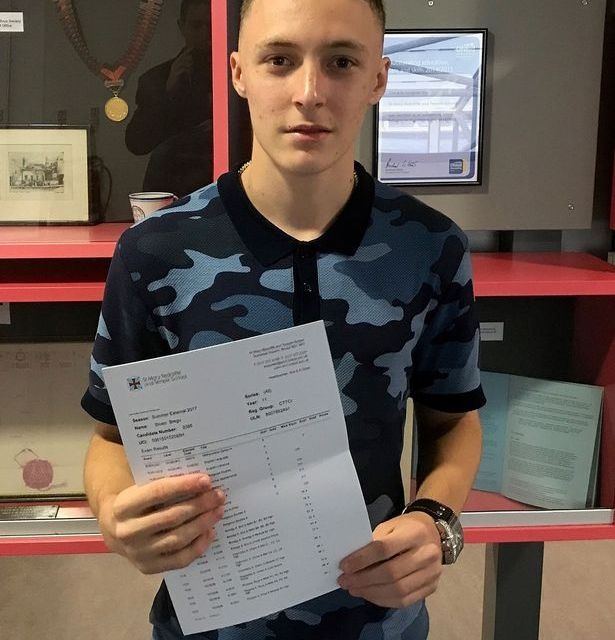 Albanian refugee from Bristol, who spoke very little English when he came to the UK two years ago, achieved top GCSE grades