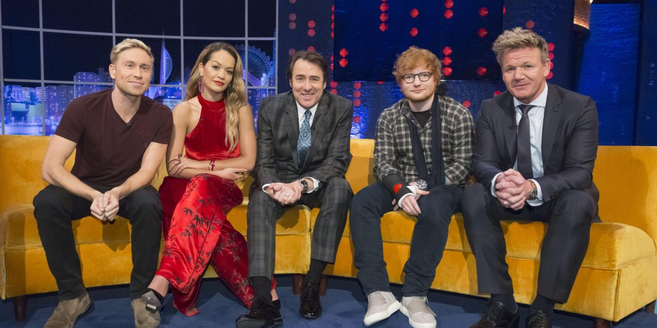 Albanian superstars: Rita Ora will reappear tonight on Jonathan Ross Show, two weeks after Dua Lipa's debut