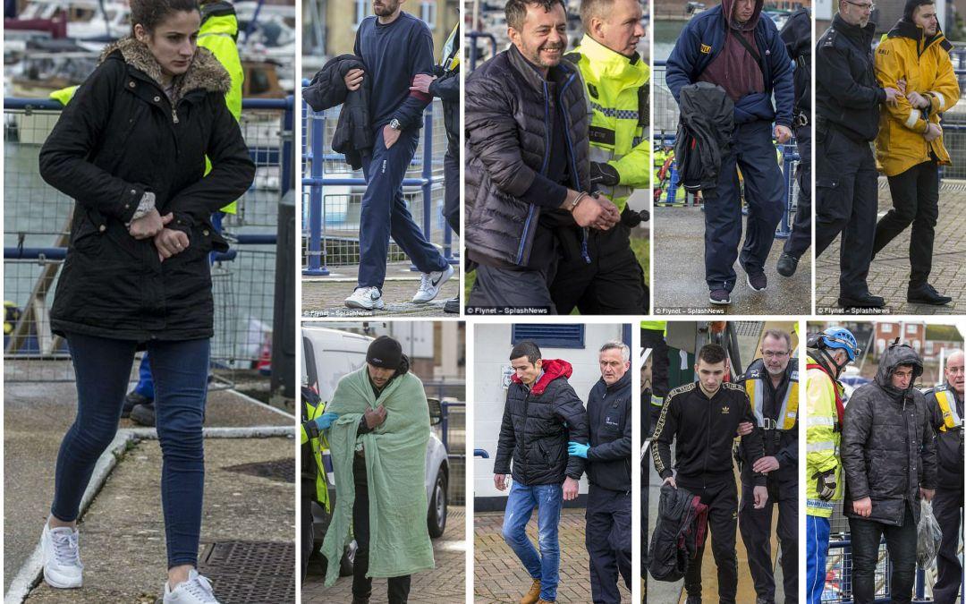 Shqiptarët vazhdojnë të rrezikojnë jetën që të hyjnë ilegalisht në Britani