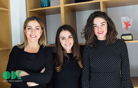 Three Kosova girls named to Forbes '30 Under 30' for their work with Open Data Kosovo