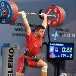 Briken Calja becomes European champion, bringing back glory to Albanian weightlifting
