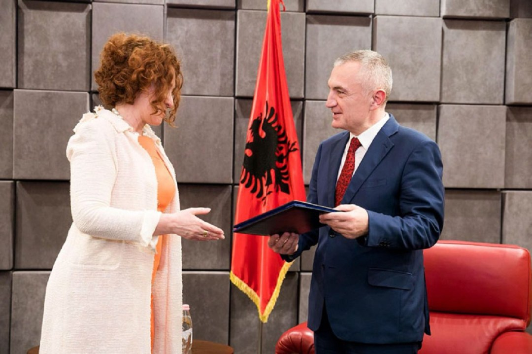 The President of Albania, Ilir Meta received yestersday the head of the EU Delegation in Tirana, Romana Vlahutin, on the occasion of the publication of the progress report on Albania by the European Commission.