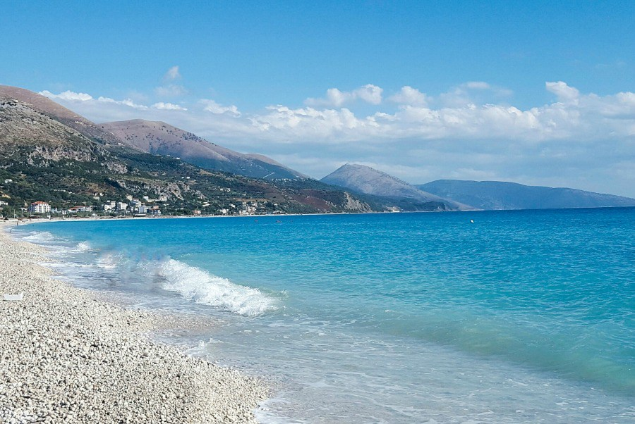 Borsh Beach, Albanian Riviera