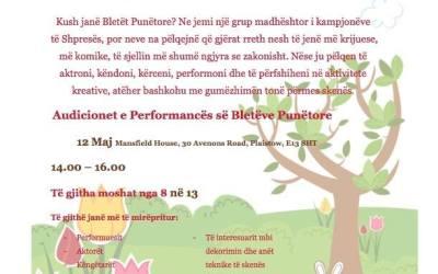 """Shpresa Program prezanton projektin """"Bletët e punëtore"""", audicioni me 12 maj"""