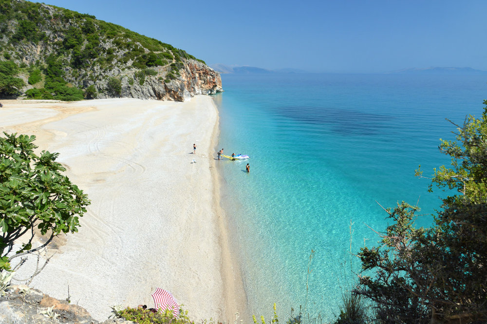 Gjipe Beach in Albania one of the most beautiful secret beaches to visit in Europe