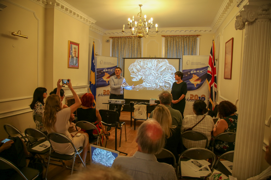 An evening celebrating the ancient Kosovan art of filigree, Kosovo Embassy in London, 26 June 2018