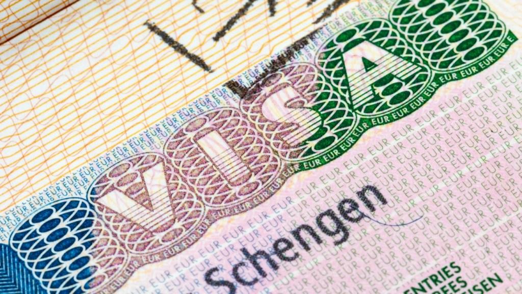 Schengen Visa sample