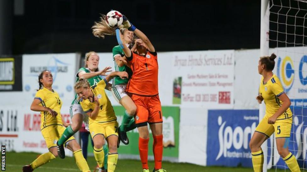 Kosovan keeper Florentina Kolgeci put in a strong performance to earn a clean sheet at Shamrock Park