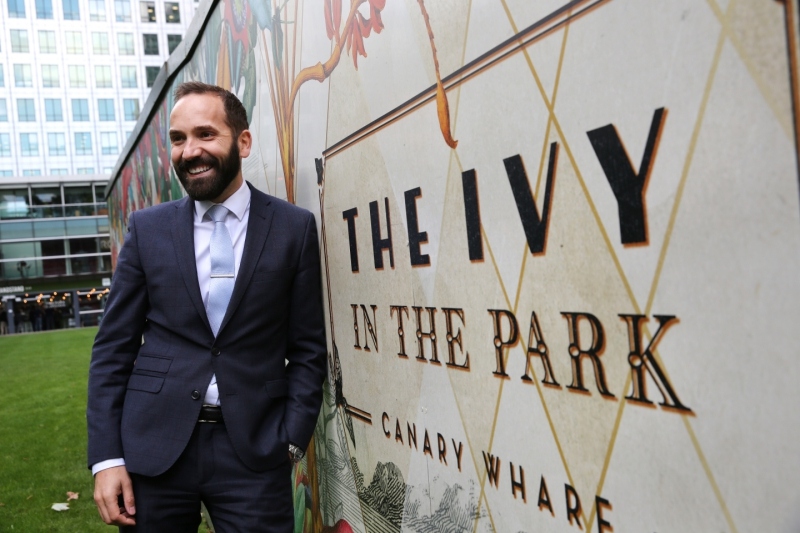 Baton Berisha, from refugee to driving force behind The Ivy Collection's success