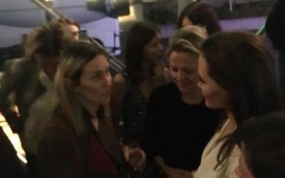 Alketa takoi dje Angelina Jolie dhe shfaq dokumentarin e saj në BFI, Londër