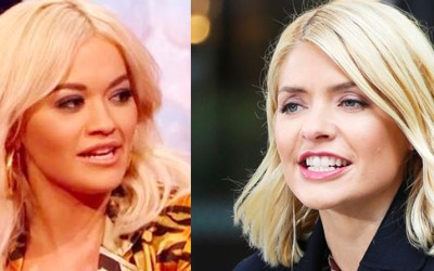 ITV's Holly Willoughby who once poked fun at Albania, replaced by Rita Ora