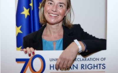 Federica Mogherini's Facebook post about Human Rights ridiculed by thousands of Kosovo Albanians