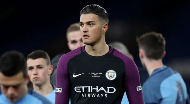 Arijanet Muric- the Man City reserve goalkeeper with Albanian roots