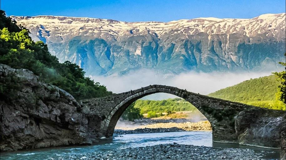 An Albanian landscape