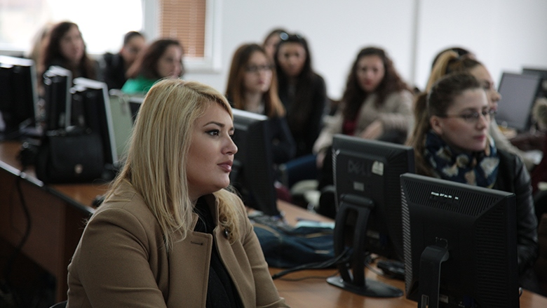 Kosovo women pursue online employment by using internet