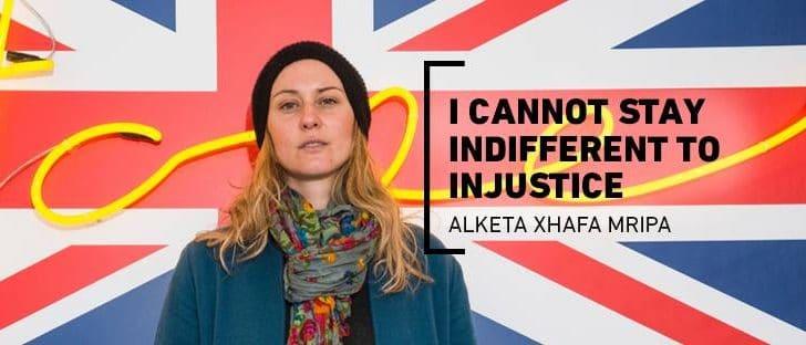 "Alketa Xhafa Mripa: ""I cannot stay indifferent to injustice"" (Video)"