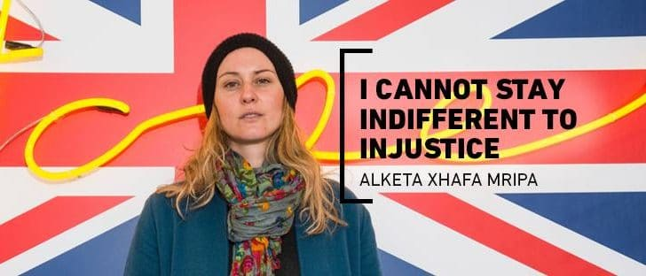 "Alketa Xhafa Mripa: ""I cannot stay indifferent to injustice"" (Video)"