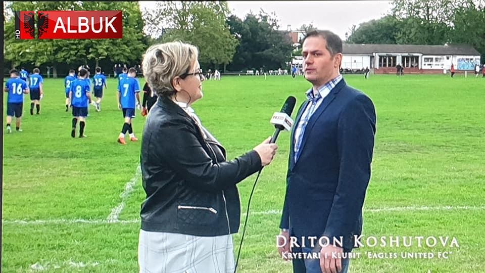 ALB UK TV: Eagles United FC dhe Federata e Futbollit të Kosovës organizuan një kamp futbolli në Londër (Video)